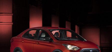 El Ford Ka Urban Warrior Concept inyecta el espíritu de un SUV... al Figo Sedán