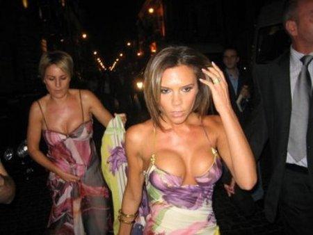 Boquitas de piñón: Victoria Beckham