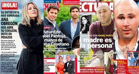 La desgarradora entrevista de Ana Obregón y la posibilidad de que Isabel Pantoja vuelva a la cárcel: estas son las portadas de la semana del 18 de noviembre