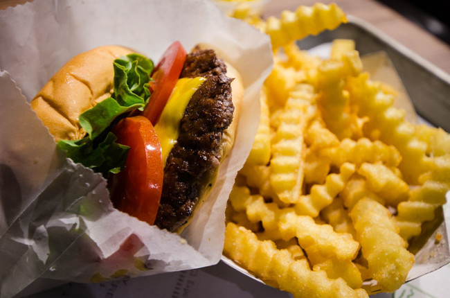 Shake Shack Burger And Fries 14129412503
