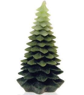 Decoración Navideña: El árbol-vela