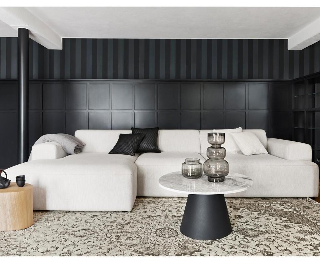 Algunas buenas razones para poner un sofá blanco en el salón