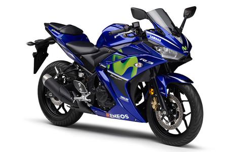 ¿Te gustarían unas Yamaha YZF-R3 y R25 réplica Rossi y Viñales? Pues seguramente te quedes con las ganas