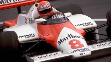 Lauda Mclaren Porsche F1