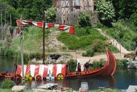 El parque temático de Puy du Fou en el Oeste de Francia es el mejor del mundo en el año 2012 (1/3)