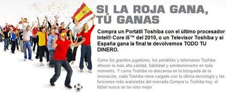 Toshiba niega las devoluciones de la promoción del mundial