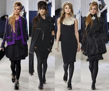 Chanel Pre-Fall 2008, Irina Lazareanu y Amy Winehouse