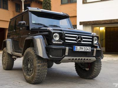 Mercedes-Benz se plantea vender el G 500 4x4² en Estados Unidos