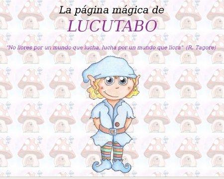Lucutabo, web de recursos para educación infantil