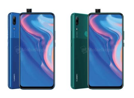 Huawei P Smart Z, este sería el primer smartphone de la compañía con cámara frontal pop-up