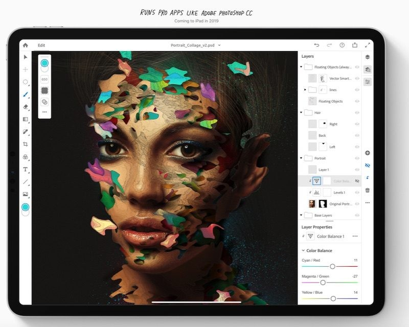 Adobe Illustrator llegaría al iPad el próximo año, tras el lanzamiento Photoshop