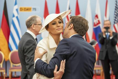 Melania Trump tiene apuesta ganadora: de blanco y con sombrero, un combo que no para de repetir