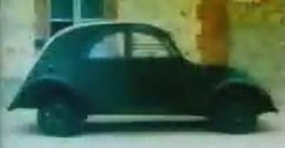 Vídeo de cuando el Citroën 2CV era sólo un prototipo