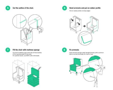 silla lavadora diy