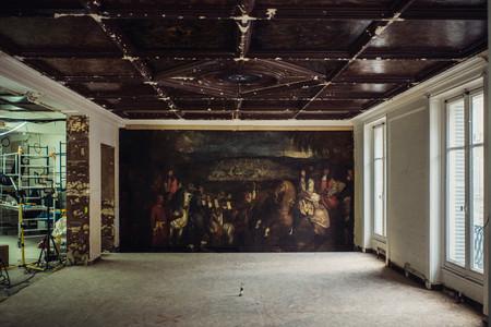 Esta es la joya oculta del siglo XVII que ha aparecido en la reforma de  la boutique de Oscar de la Renta en París