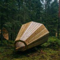 Estos altavoces naturales gigantes te permitirán envolverte con el sonido del bosque