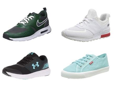 9 chollos en tallas sueltas de zapatillas Nike, New Balance, Levi's o Reebok en Amazon