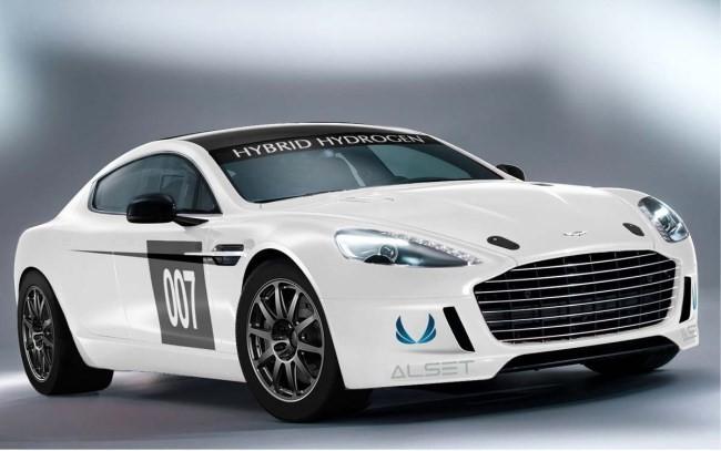 Aston Martin Hybrid Hydrogen Rapide S
