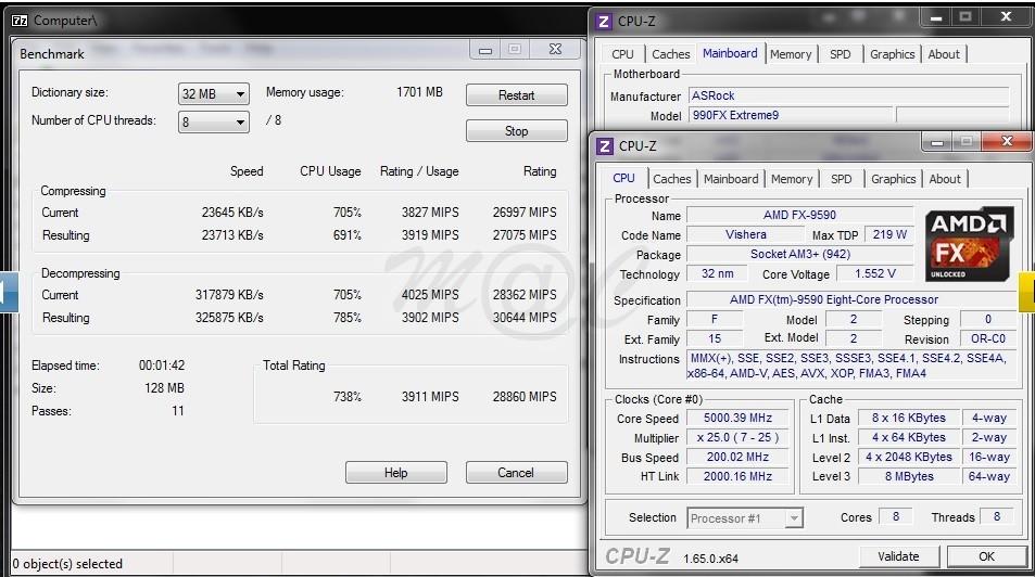 Foto de Rendimiento AMD FX-9590 a 5GHz (8/11)