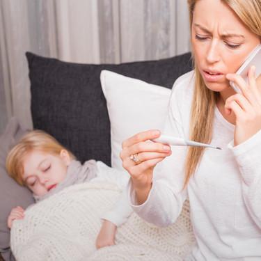 La publicación viral de una madre acerca de por qué no debemos medicar y enviar a los niños con fiebre a la escuela