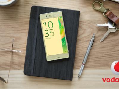 Precios Sony Xperia X con Vodafone