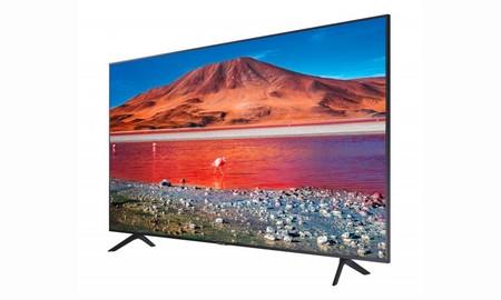 ¿Buscas una tele de 65 pulgadas de este mismo año? En PcComponentes te dejan ahora la Samsung UE65TU7172 más barata que en ninguna otra tienda, por 579 euros