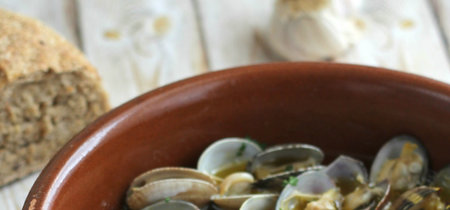 Almejas al pil pil (versión andaluza)