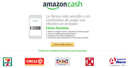 Amazon Cash Mexico