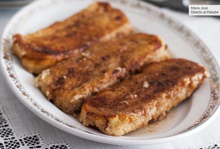 Torrijas al horno: receta de Semana Santa