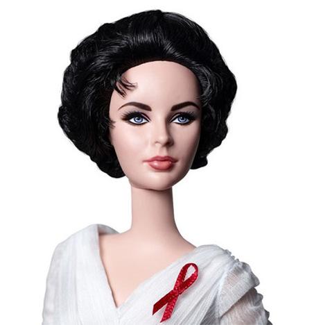 Portrait Elizabeth Taylor Doll
