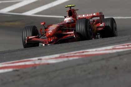 Los Ferrari comienzan fuerte en Fuji