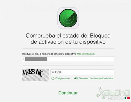 Apple lanza sitio para revisar si está activado o no el bloqueo de iCloud en dispositivos iOS