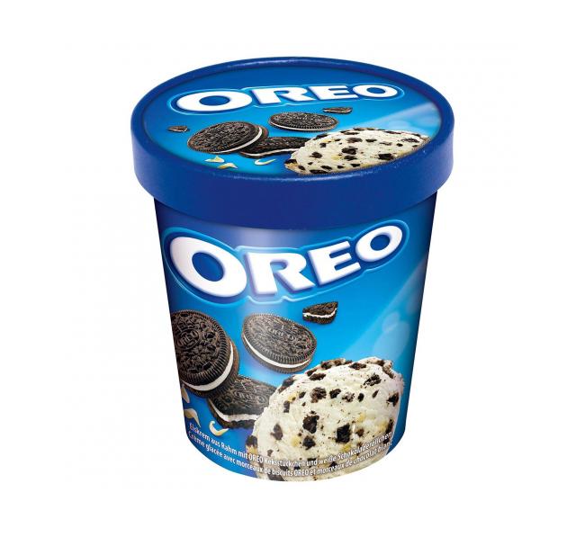 OREO. Helado con mini cookies tarrina 480 ml