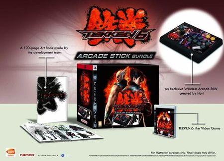 Tekken 6 - Edición de coleccionista con stick arcade