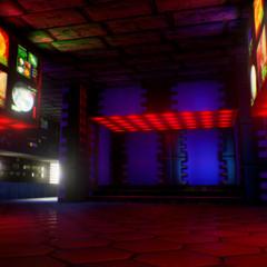 Foto 5 de 13 de la galería nivel-e1m1-de-doom-en-unreal-engine en Vida Extra