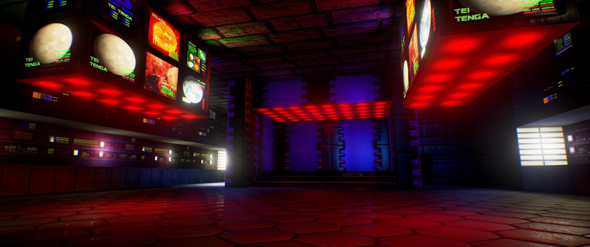 Foto de Nivel E1M1 de Doom en Unreal Engine (5/13)
