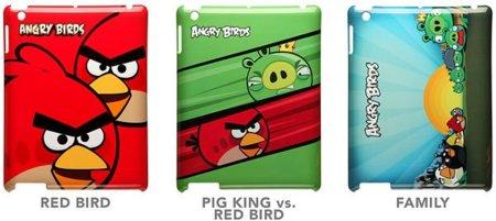 Carcasas de Angry Birds para el iPad 2