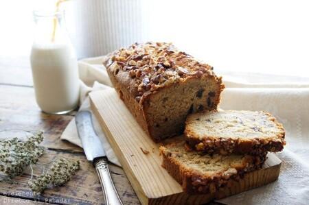 Plum cake de plátano y dátiles: receta para arrancar el día con energía