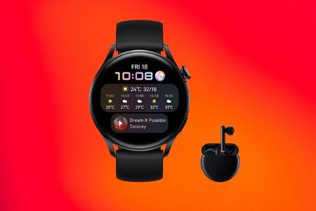 Adelántate y compra ya el nuevo smartwatch Huawei Watch 3 desde 369 euros y llévate los auriculares FreeBuds 3 de regalo
