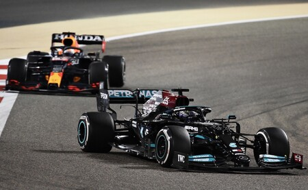 Hamilton Verstappen Barein F1 2021