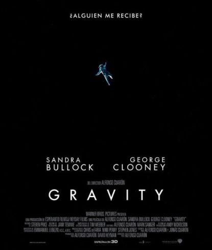 Cartel español de Gravity