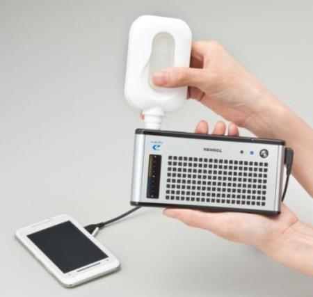 Toshiba Dynario, las baterías de celdas de metanol llegan al consumidor