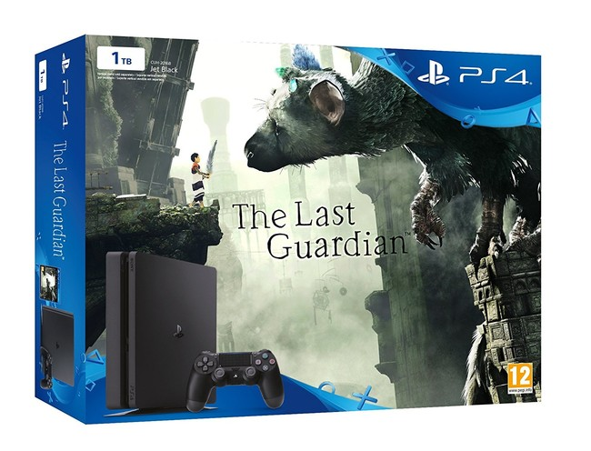 PS4 Slim 1TB + The Last Guardian