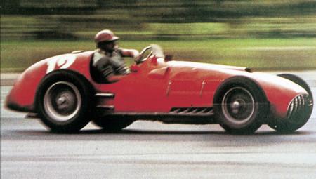 Jose Froilan Gonzalez Silverstone F1 1951 2