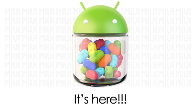 MIUI Android 4.1 (Jelly Bean)