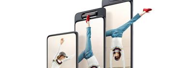Si ves series en el móvil puede que desees el nuevo A80 de Samsung: maximiza la pantalla infinita gracias a su cámara giratoria