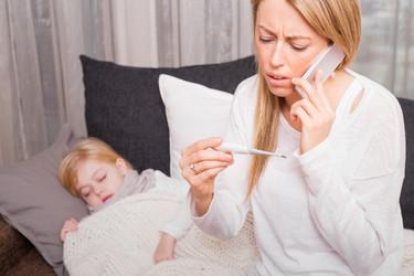 ¿Cuándo y cómo llamar a la ambulancia si tu hijo está enfermo?