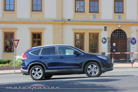 Honda CR-V 1.6 i-DTEC, presentación y prueba en Praga