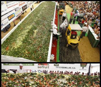 Nuevo Récord Guinness por la ensalada más grande del mundo