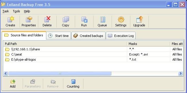Exiland Backup, un completo sistema para realizar tus copias de seguridad